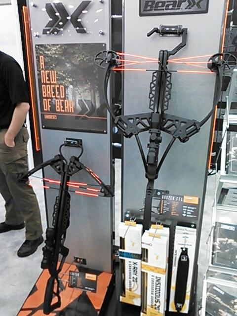 New Bear Archery Crossbows at the 2016 ATA Show.