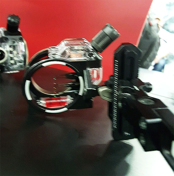 The new CBE Sniper Pro XD at the 2016 ATA Show.